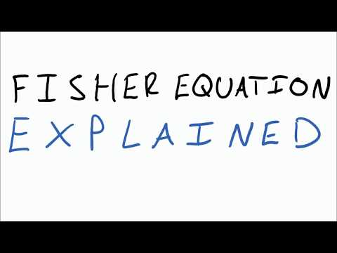 EC210 Explained: The Fisher Equation
