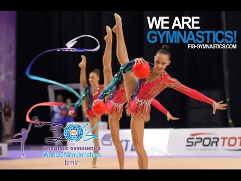 FULL REPLAY - 2014 Rhythmic Worlds, Izmir (TUR) - Group All-around Part 1 - We are Gymnastics!