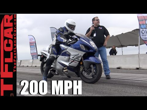 200 MPH on Two Wheels