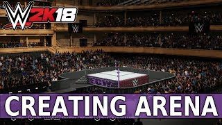 WWE 2K18 Create an Arena: ECW VS WWE!!