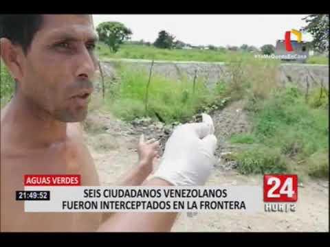 Intervienen a 6 venezolanos que intentaban ingresar de manera irregular a Perú