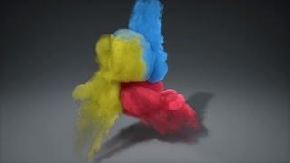 Basic Multi-Colored Smoke in Blender