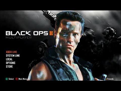 Arnold Schwarzenegger Plays Black Ops 2 (Soundboard Gaming)
