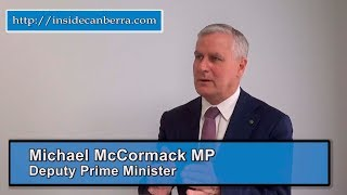 Michael Keating interviews Deputy Prime Minister Michael McCormack  Preview