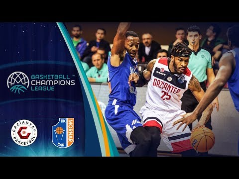 Gaziantep V Mornar Bar – Highlights – Basketball Champions League 2019-20