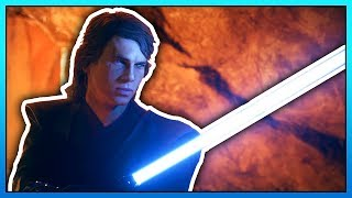 ANAKIN SKYWALKER Footage Teaser - Star Wars Battlefront 2 The Chosen One