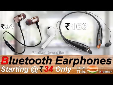 best-sports-bluetooth-earbuds-2019-rs-34-only-|-apple-earpods-low-price-in-india-|-wireless-airpods
