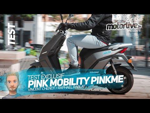 PINK MOBILITY PINKME | TEST MOTORLIVE