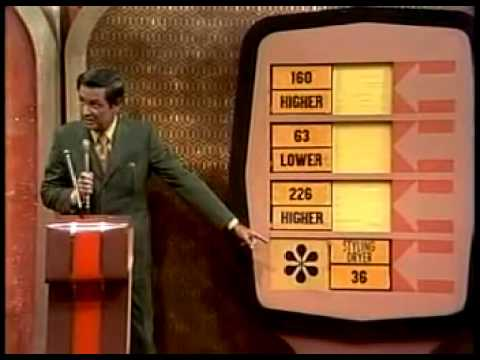 Price Is Right First Episode (9-4-1972)