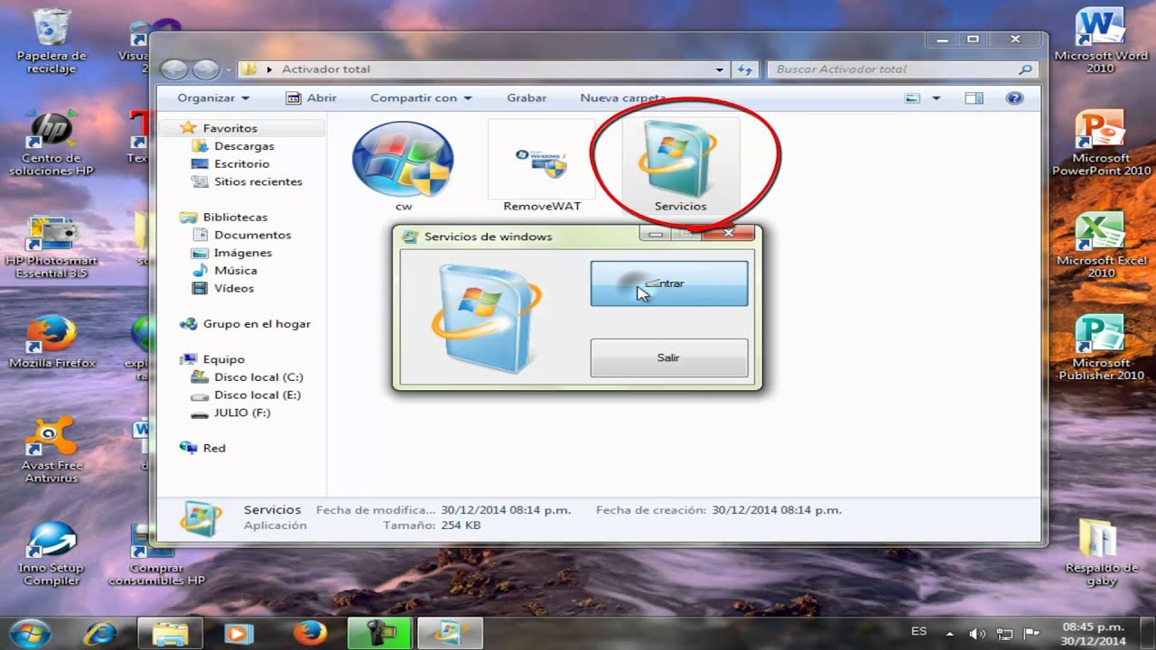 Activador de windows 7 ultimate 32 bits full gratis