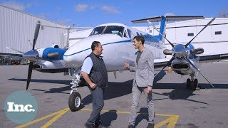We Try A New Flying Uber for Millionaires | Inc.