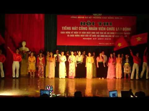 Rạng rỡ Việt Nam - Giải nhất hát múa giảng viên