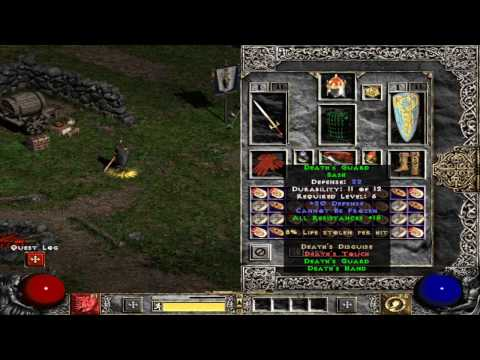 Diablo 2 Standard Paladin EQ lld pvp