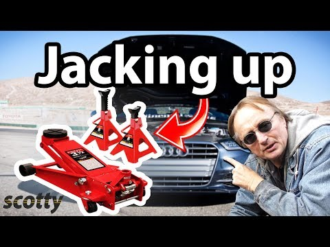 How to Jack Up Your Car (The Right Way)