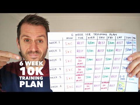 6 week 10k training plan