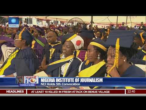 1,341 Students From Five Academic Session Graduate As NIJ Holds Convocation
