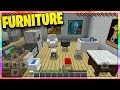 FURNITURE in Minecraft Pocket Edition