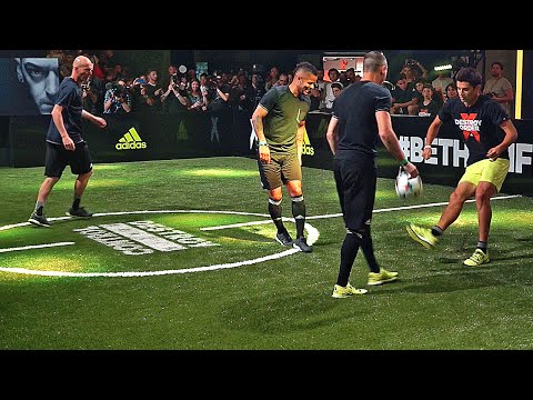 Zidane & his Son vs F2 Freestylers ✖ Football Skill Match