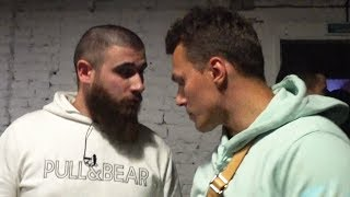 Лев Лазутин встретил Тарасова на новом шоу Амирана.