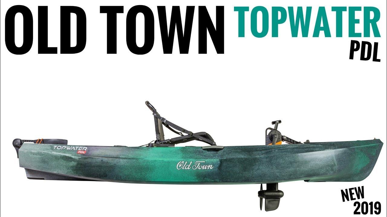 Old Town Topwater PDL (Pedal Kayak)