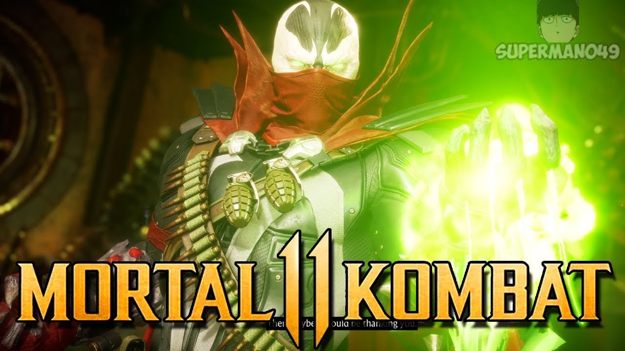 "SPAWN GET'S INFINITE COMBO POTENTIAL! - Mortal Kombat 11: ""Spawn"" Gameplay"