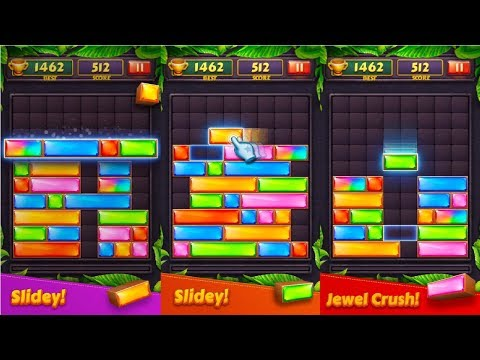 Jewel Blast - Block Drop Puzzle Game Android Gameplay