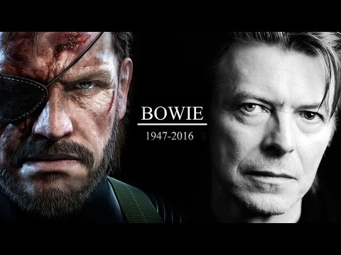 David Bowie Tribute | Metal Gear Solid V | LYRICS | The Man Who Sold the World