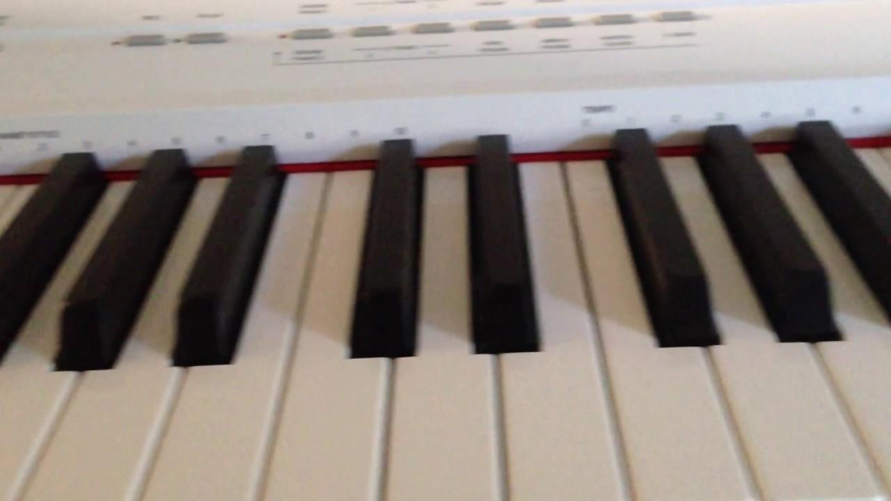 yamaha p 105 digital piano demo song youtube. Black Bedroom Furniture Sets. Home Design Ideas