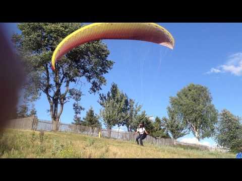 учебное видео для начинающих парапланеристов