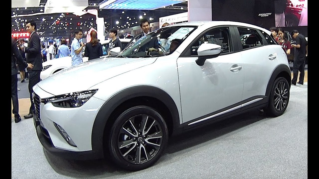 2016 2017 mazda cx 3 skyactiv 2 0 liter i 4 with 146 hp top model youtube. Black Bedroom Furniture Sets. Home Design Ideas