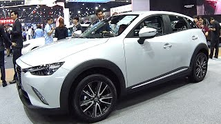 2016, 2017 Mazda CX-3 Skyactiv, 2.0-liter I-4 with 146 hp, TOP mode...