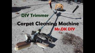 Video HOMEMADE DIY Trimmer Carpet Cleaning Machine / DIY 2018 download MP3, 3GP, MP4, WEBM, AVI, FLV Oktober 2018