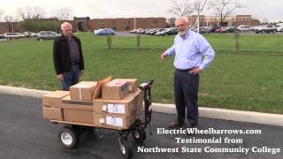 Electric Wheelbarrow Testimonial