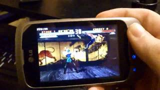 LG P500 full speed FPSE and GTA 3, true power of this phone
