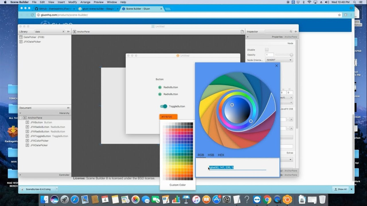 JFoenix Material Design Tutorial - YouTube