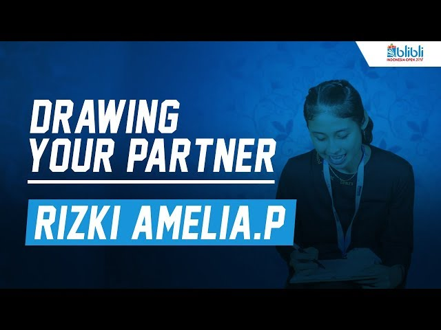 Drawing Your Partner with Rizki Amelia Pradipta