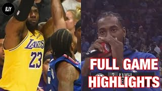 Los Angeles Lakers vs Los Angeles Clippers | Full Game Highlights | October 22, 2019 | NBA 2019-20