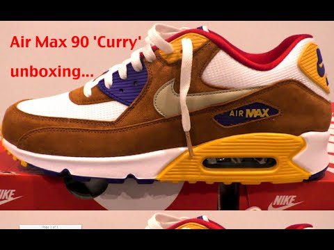 Nike Air Max Curry Double Unboxing Uk