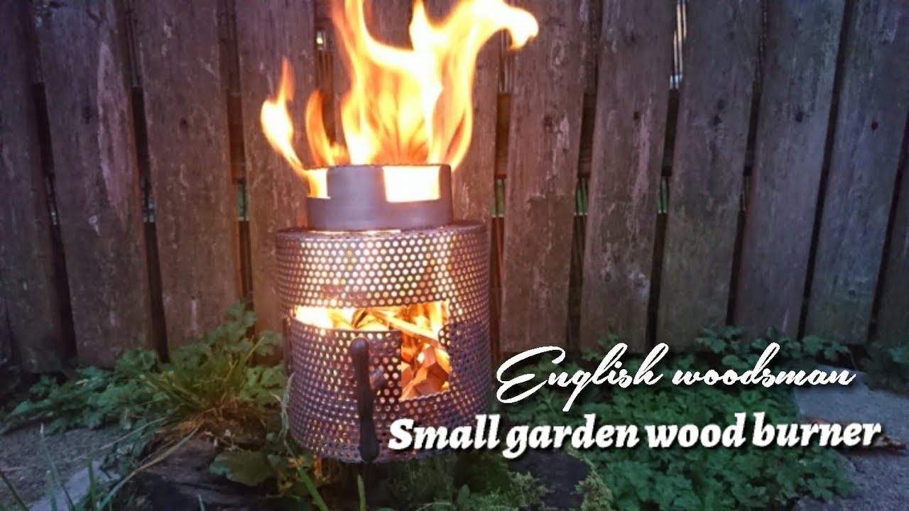 Self Made Bushcraft Stove Lightweight And Small Youtube