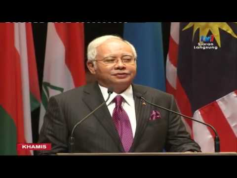 The voice of the Malaysian PM Najib Tun Razak at Extraordinary OIC session on Rohingya situation.