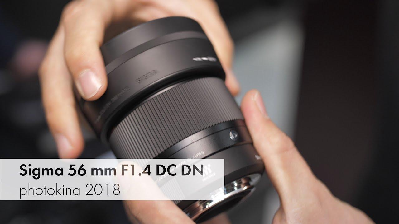 Sigma 56 mm f/1.4 DC DN | Leichtes Portrait-Objektiv für DSLM ...