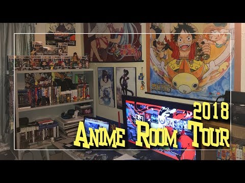 Anime Room Tour 2018