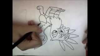 Speed Drawing Gilda pt.1