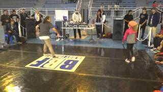 Bgirl France West 2015: PLAYMO(Lady rock) vs CHARLINE (Flow killerz)