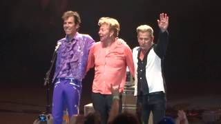 Rock This Town - Stray Cats @ OC Fair, Pacific Amphitheatre, Costa Mesa, CA 8-17-18