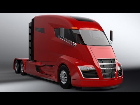 Nikola One Electric Truck With 2000HP