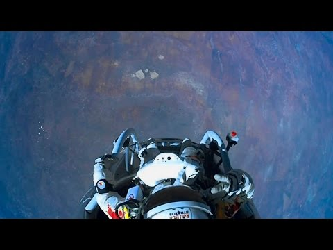Felix Baumgartner's Jump with Daft Punk's