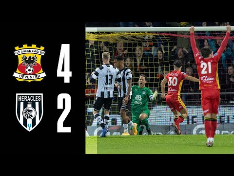 G.A. Eagles Heracles Goals And Highlights
