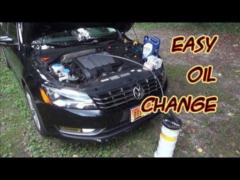 Vw A5 2 0l Common Rail Tdi Oil Change Basics Doovi