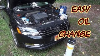 2012 VW Passat TDI TopSide Oil, Oil Filter, and Fuel Filter Change